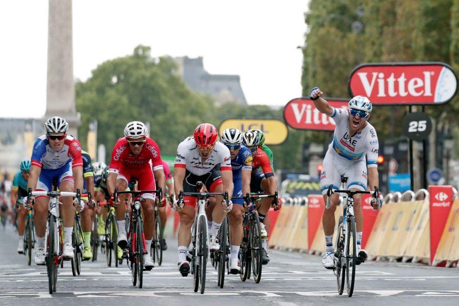 Alexander Kristoff a remporté l'ultime étape du Tour de France.