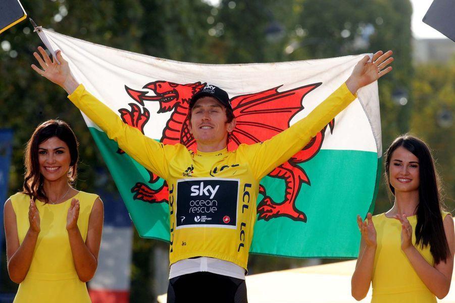 Le triomphe de Geraint Thomas sur le Tour de France.