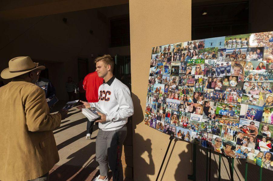 L'hommage aux Altobelli a eu lieu lundi à Anaheim.