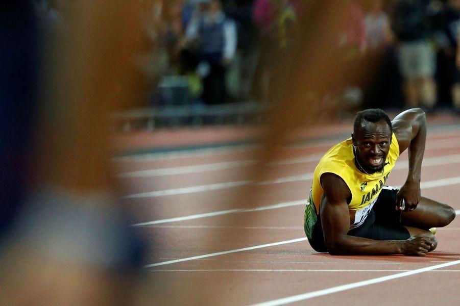 Usain Bolt à Londres, le 12 août 2017.