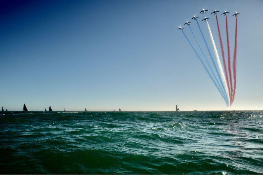 Les 33 skippers de la neuvième édition du Vendée Globe ont pris le départ dimanche au large des Sables d'Olonne du légendaire tour du monde à la voile en solitaire et sans escale, qui s'est élancé sans public pour la première fois de son histoire.