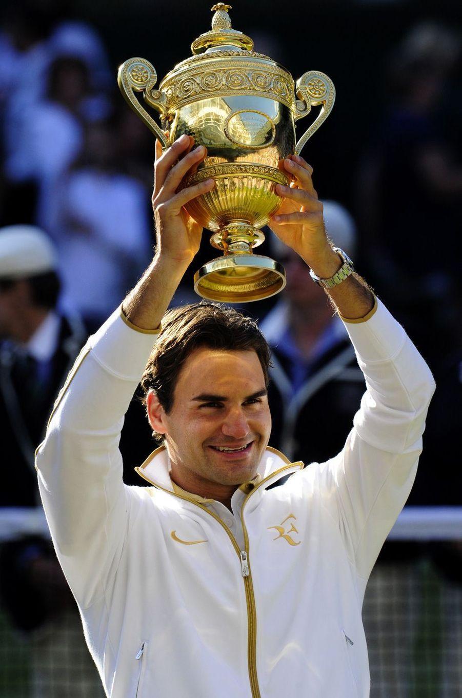 Victoire de Roger Federer à Wimbledon en 2009.