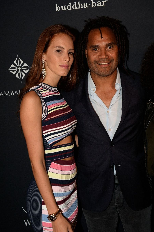 Christian Karembeu et son épouse Jacky Chamoun.