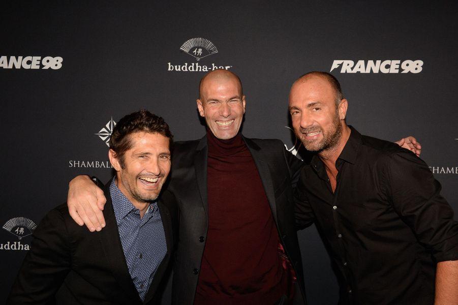 Bixente Lizarazu, Zinédine Zidane, Christophe Dugarry.