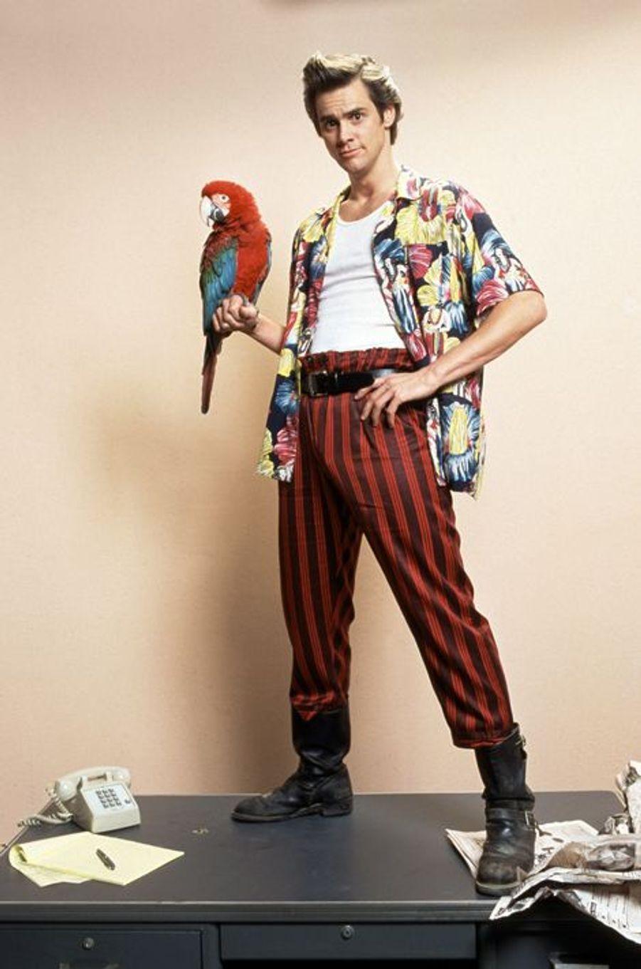 """Poncho le perroquet dans """"Ace Ventura"""""""