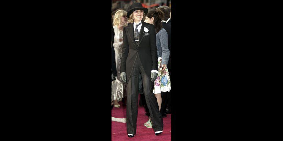 Diane Keaton aux Oscars en 2004