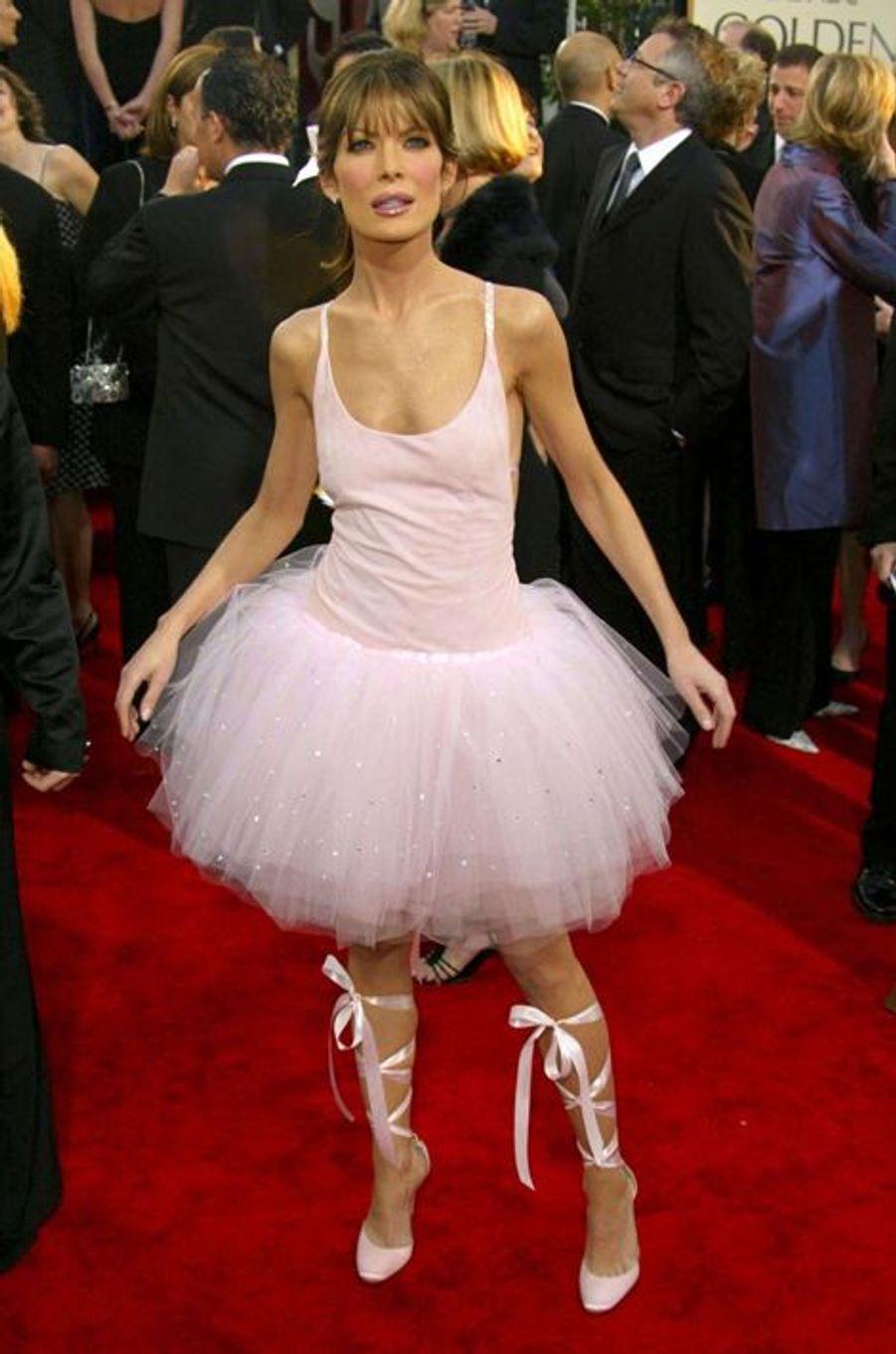 Lara Flynn Boyle aux Golden Globes en 2003