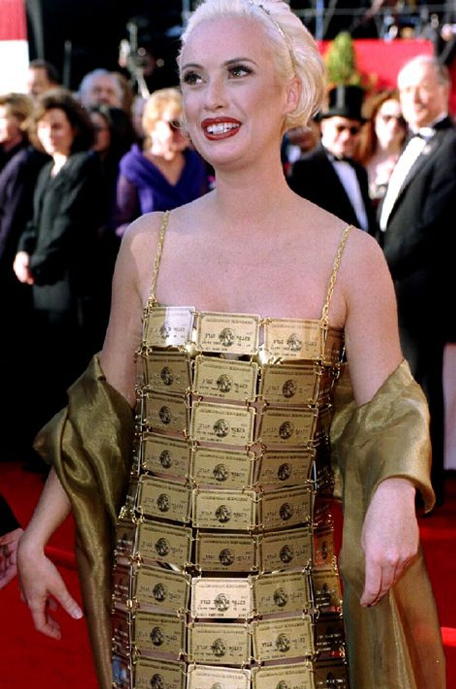 Lizzy Gardiner aux Oscars en 1994