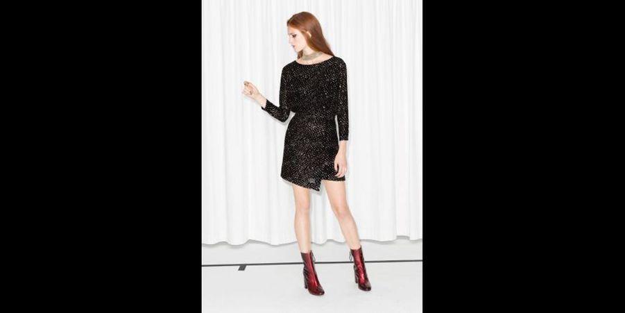 Une robe très 80's parfaite pour aller danser. (voir l'épingle)Suivez nous sur Pinterest!