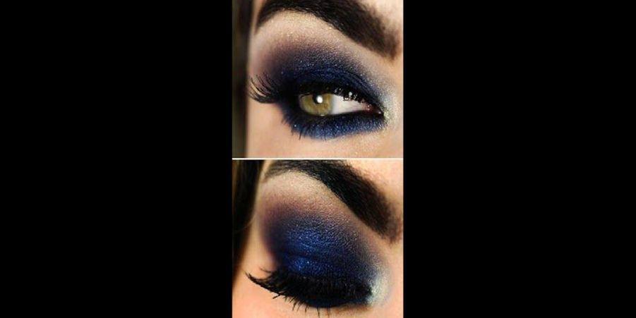 Un bleu assez puissant que celles les meilleures maquilleuses pourront réaliser. Le secret réside dans l'estompage des fards. (voir l'épingle)Suivez nous sur Pinterest!