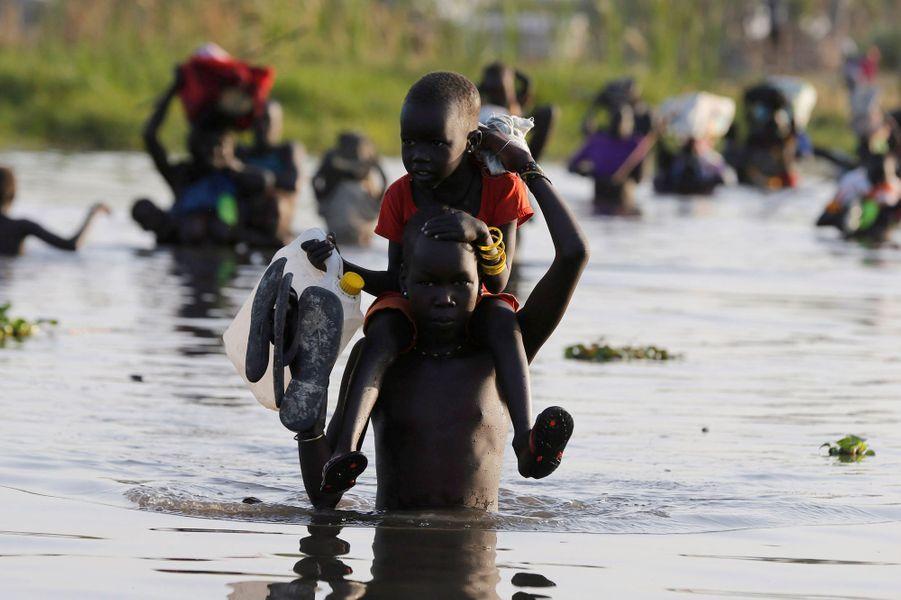 Région de Leer au Sud Soudan, le 25 février 2017