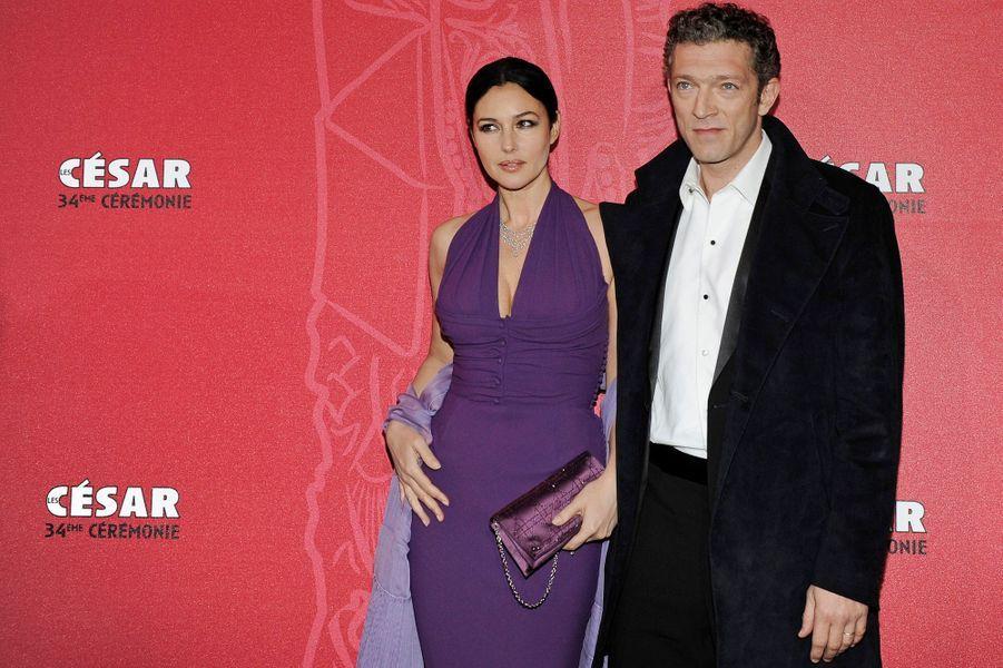 Monica Bellucci a confirmé à l'agence italienne Ansa en aoûtsa rupture avec son mari, Vincent Cassel, après quatorze ans de mariage. L'ex-couple mythique n'a donné aucun détails sur les raisons de leur séparation, ni sur la date exacte à laquelle elle est intervenue.