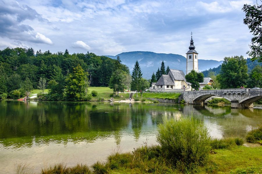 Lac de Bohinj, Slovénie