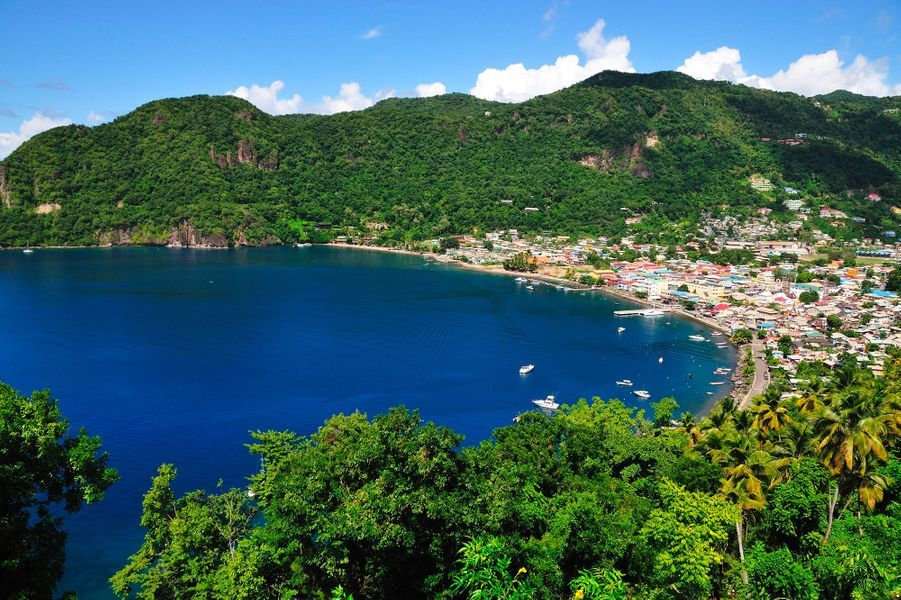 Sainte-Lucie, Caraïbes