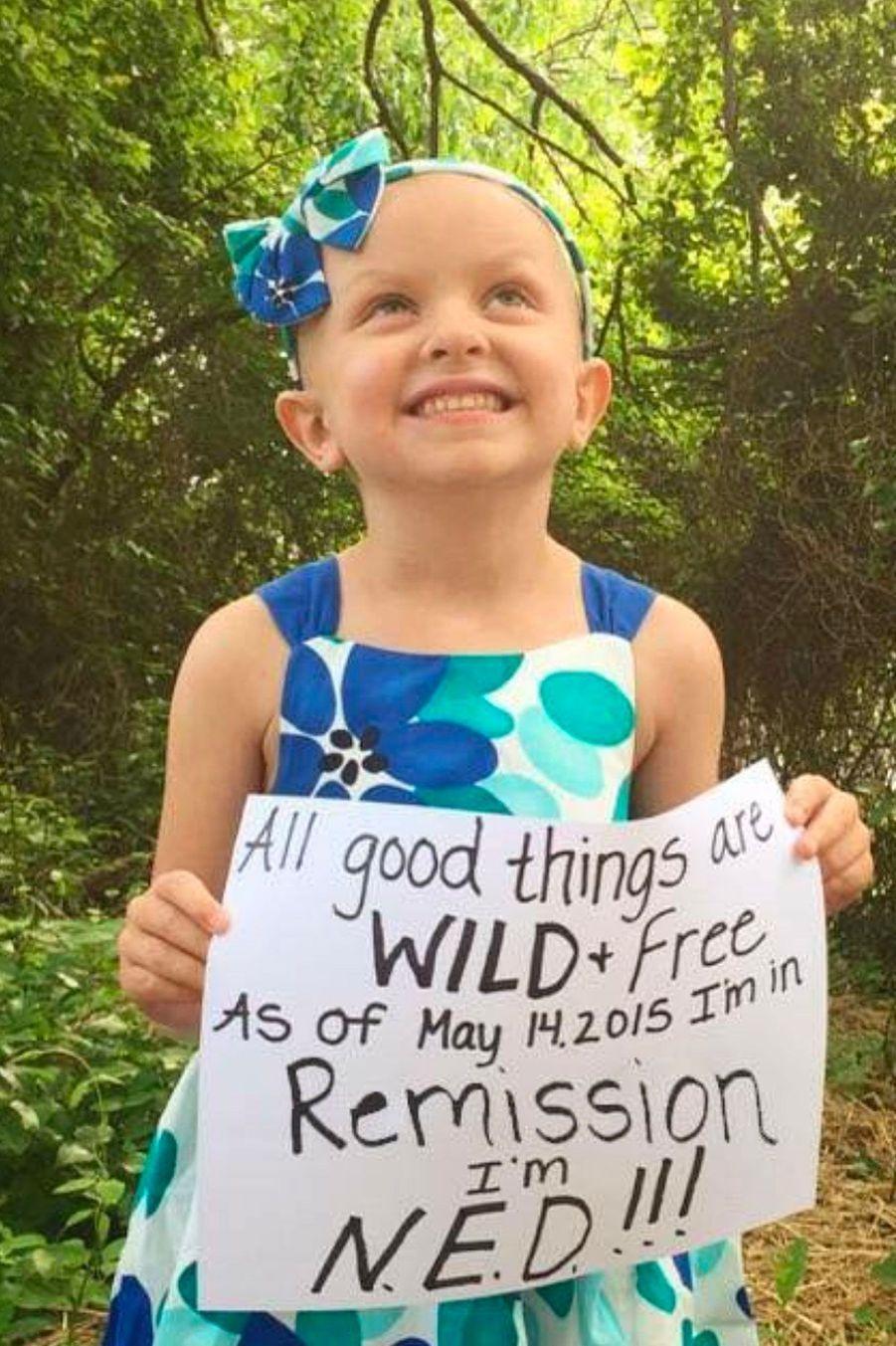 A cinq ans, Claire Russell a tué son cancer