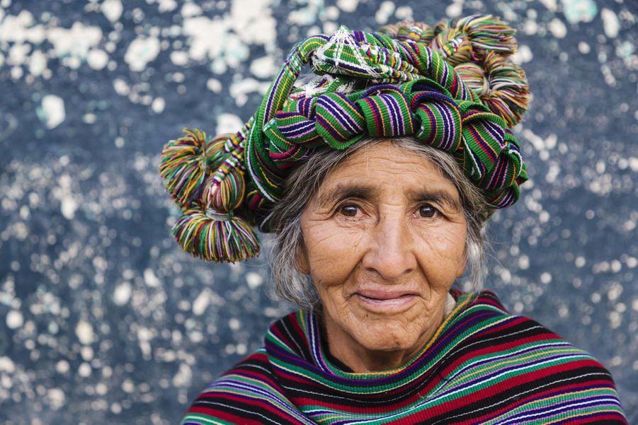 Portrait d'une Guatémaltèque