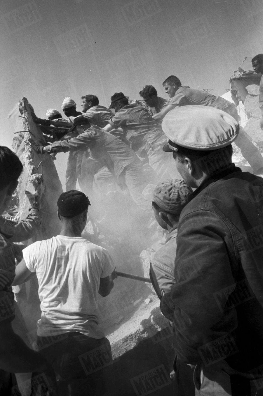 Le séisme d'Agadir, le 29 février 1960.