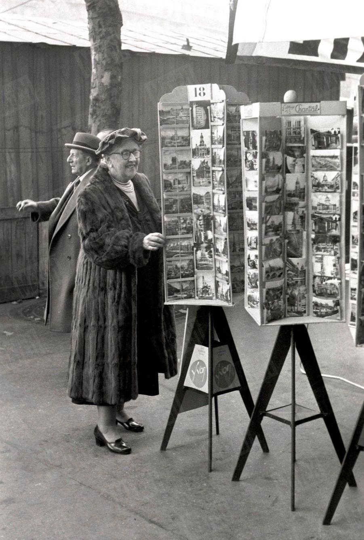 Agatha Christie à Paris en novembre 1955.