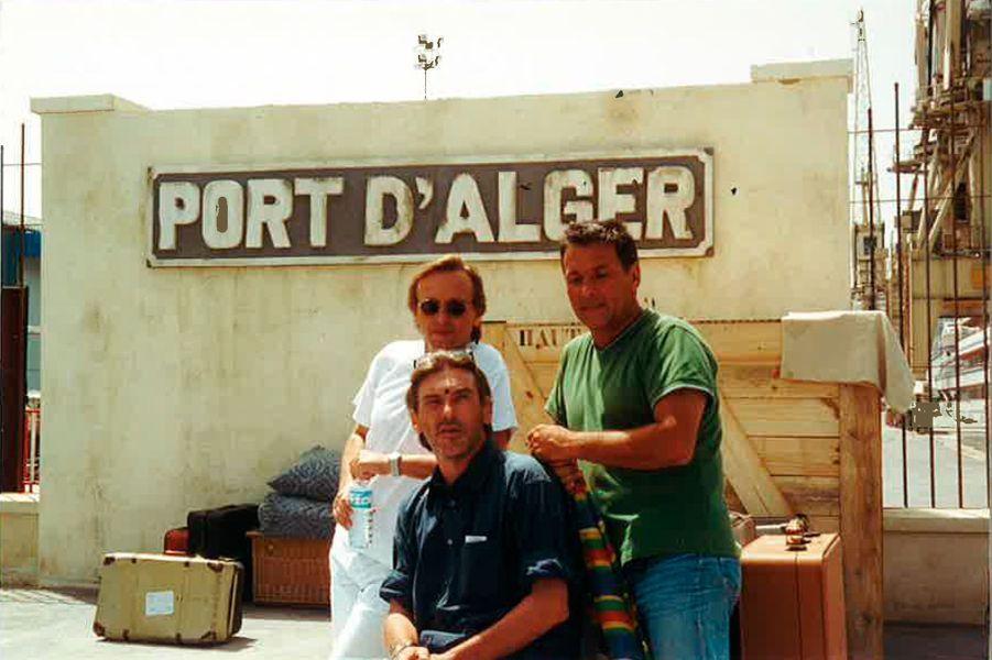 """""""Attila,, Tony avec moi à Tanger pour """"Là-bas mon pays"""""""