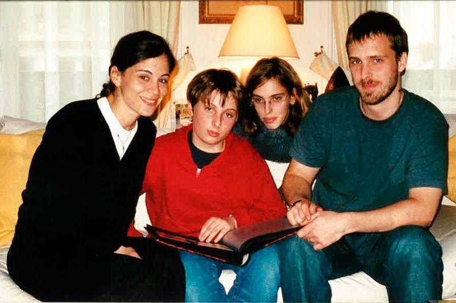 Laila, Yacha, Lisa et Alexandre