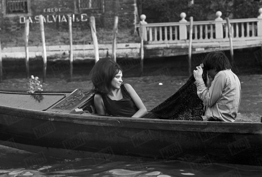 Anna Karina, à Venise en septembre 1967.