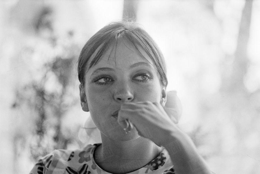 Anna Karina, en septembre 1967.