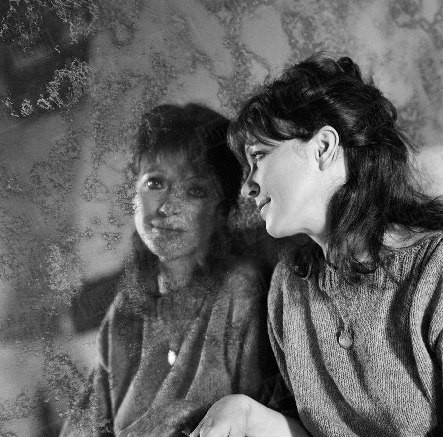 Anna Karina, en janvier 1978.