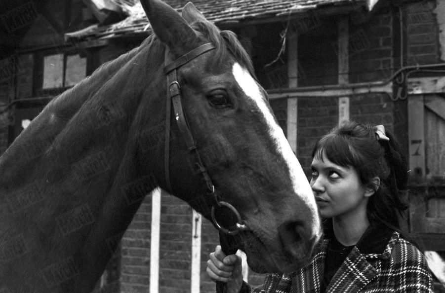 Anna Karina, janvier 1963.