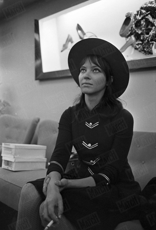Anna Karina, à Londres septembre 1967.