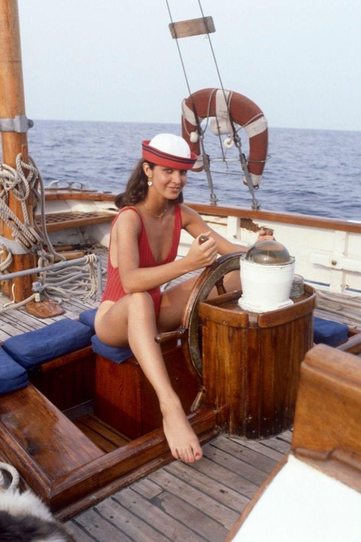 Anne Parillaud en juillet 1984.