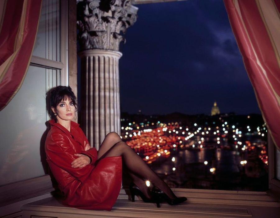 Anne Parillaud en septembre 1996.