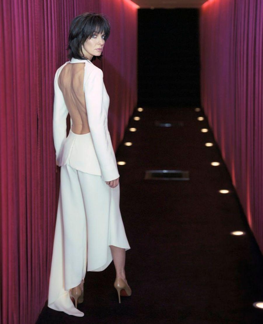 Anne Parillaud en février 2002.