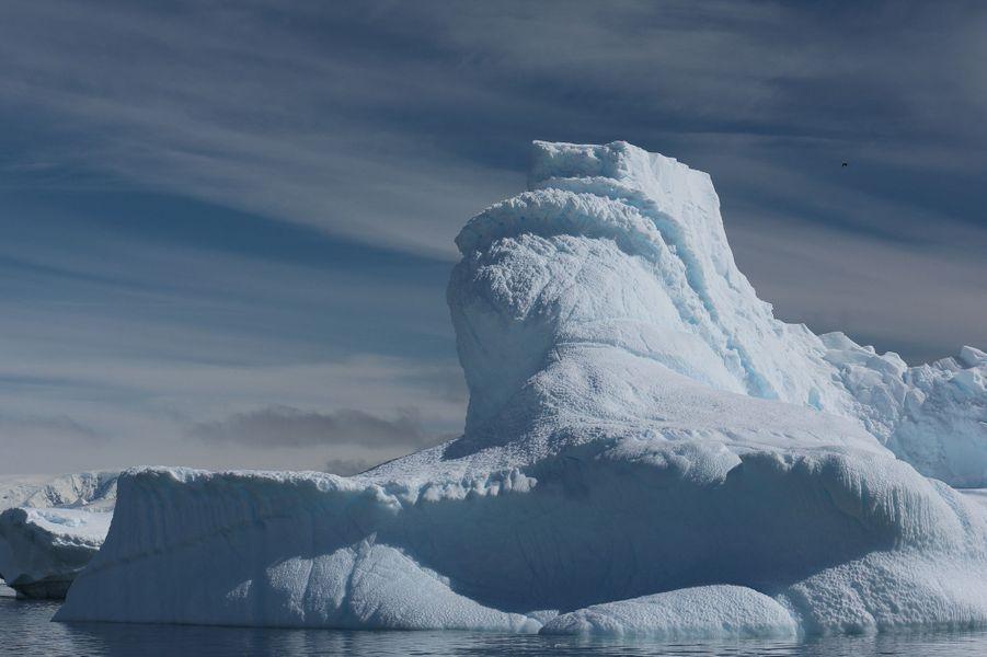 D'autres icebergs restent inhabités, mais font une drôle de tête. Robotique ou...
