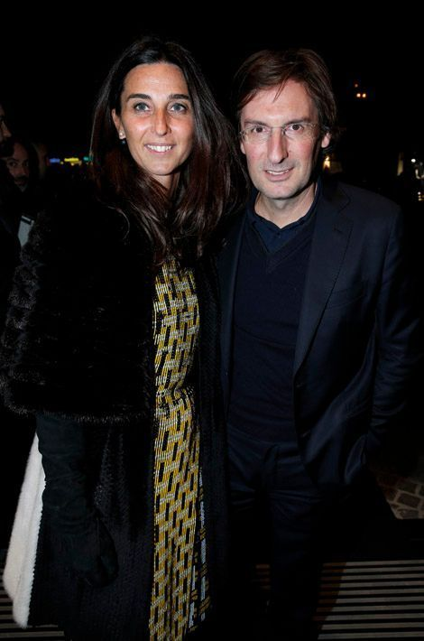 Elisabetta et Pietro Beccari, président de Fendi.