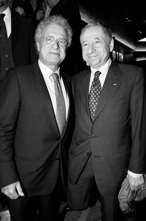 Laurent Dassault, Jean Todt.