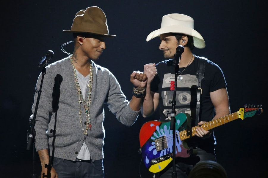 Pharrell Williams et Brad Paisley