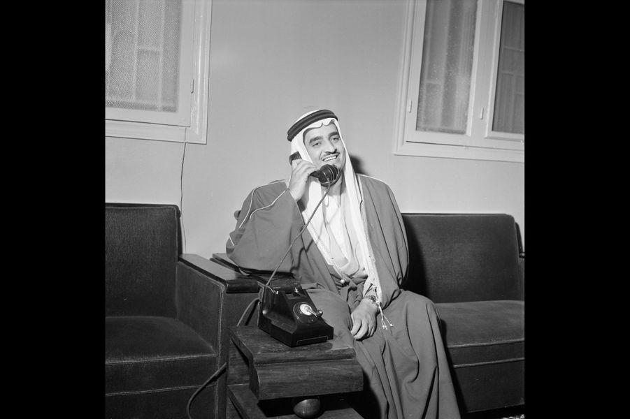 Rencontre avec un des frères, Sultan ben Abdelaziz Al Saoud