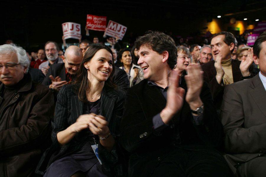 11 février 2007, au meeting de Ségolène Royal à Villepinte