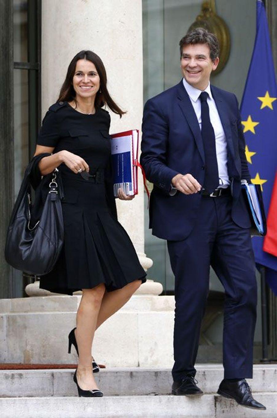 18 septembre 2013, à la sortie du Conseil des ministres