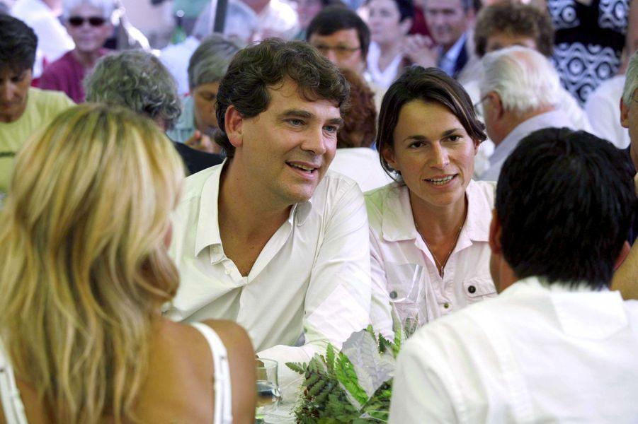 26 août 2007, à la fête de la rose de Frangy-en-Bresse, organisée par Arnaud Montebourg