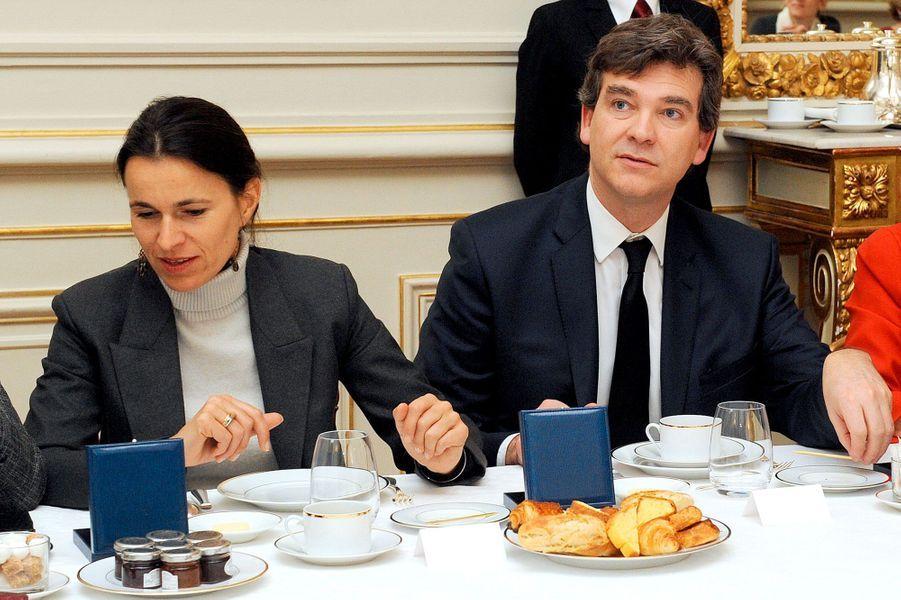 3 janvier 2013, au petit déjeuner du gouvernement, place Beauvau