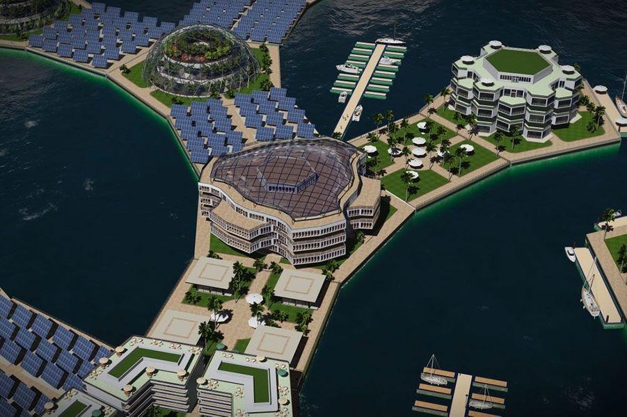 Artisanapolis, la ville flottante de demain