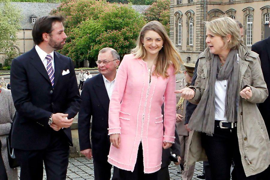 Au Luxembourg, Stéphanie et Guillaume fêtent le printemps
