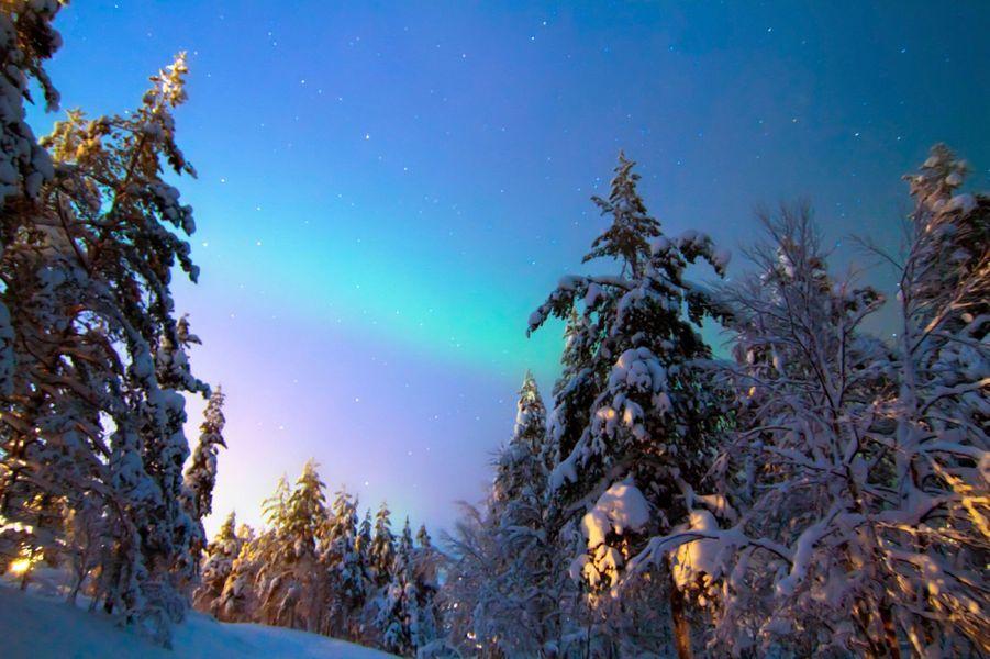 Au pays des aurores boréales