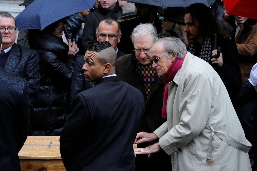 Aux obsèques de Georges Lautner