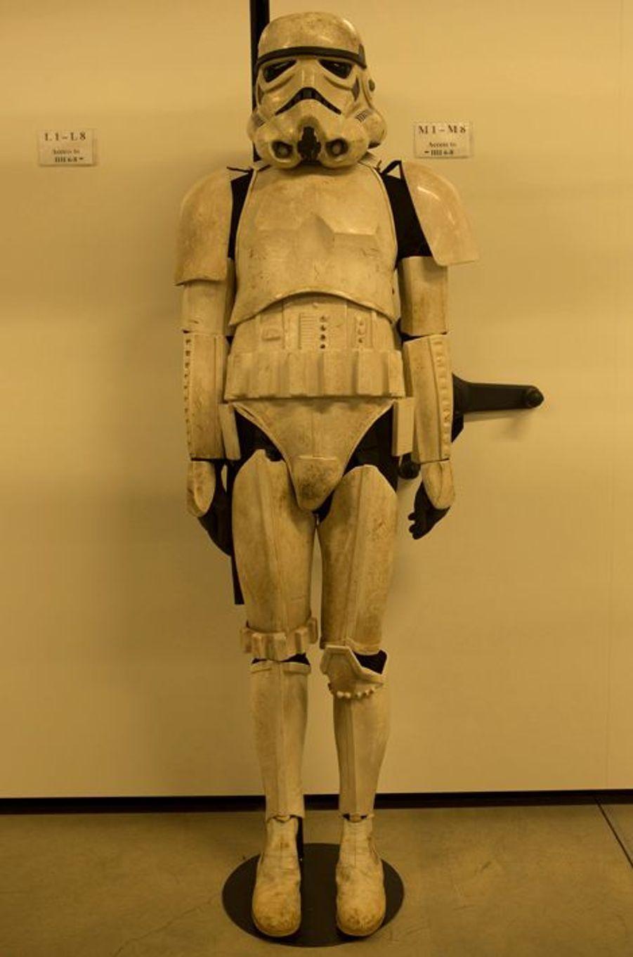 Un stormtrooper rescapé de nombreuses batailles.