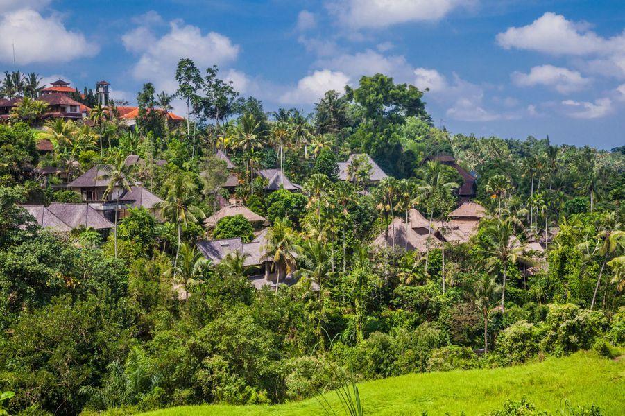 Les villas à Ubud