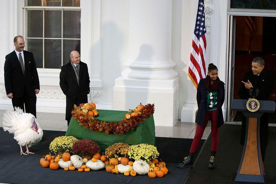 Obama gracie la dinde Popcorn