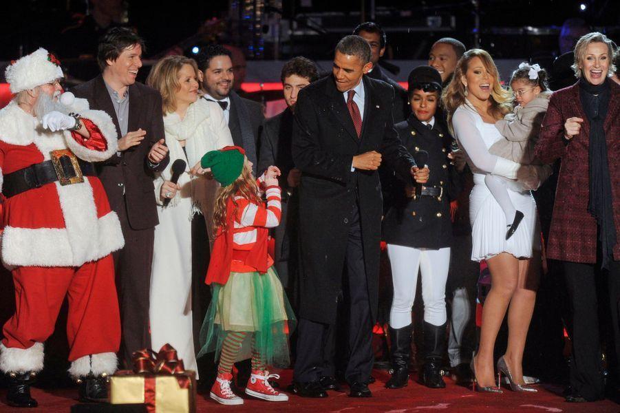 Barack Obama met l'ambiance à la Maison blanche