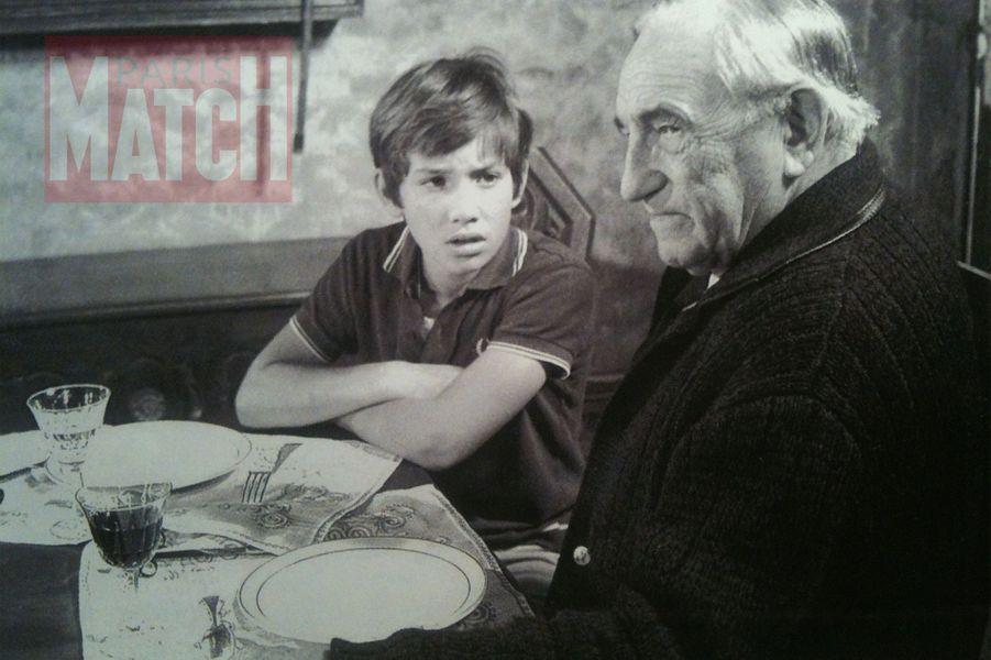 """""""Pendant le tournage de """" La Mary-Morgane"""", je n'avais que 12 ans mais j'étais fasciné par le charisme de CharlesVanel."""""""